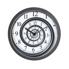 Unusual Wall Clocks by Amazon Com Cafepress Spiral Unique Decorative 10