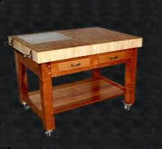 kitchen island butcher block table chefs table custom wood countertops butcher block countertops