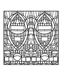 coloring pages coloring stained glass de l apparition bleue
