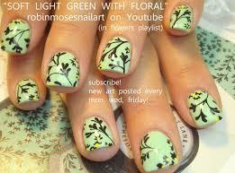 nail art tutorial diy easy short nails for beginners mint