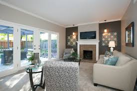 St Charles Ct Danville CA Contemporary Family Room San - Cool family rooms