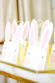 easter bags how to set a pink easter table with diy mini floral easter