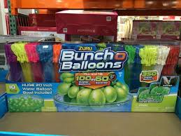 bunch balloons zuru bunch o balloons 350 water balloons costcochaser