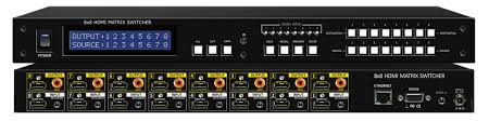 home theater with spdif input a neuvideo and shinybow hdmi matrix switch 8x8 with spdif audio