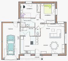 plan maison 90m2 plain pied 3 chambres plan maison en v plain pied vos idées de design d intérieur