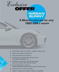 nissan sentra price in qatar loydence rent a car loydencecars twitter