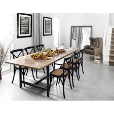 this is my ideal dining setting parquet recycled timber dining