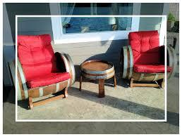 wine barrel chairs ensemble u2013 marksmenship