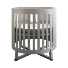 White Convertible Baby Cribs by Bedroom Wonderful Round Cribs For Nursery Furniture Ideas