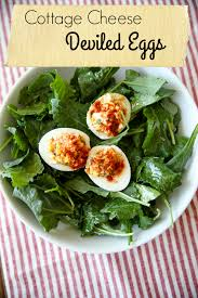 Cottage Cheese Recepies by Cottage Cheese Deviled Eggs Kath Eats Real Food