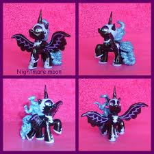 My Little Pony Blind Packs My Little Pony Blind Bag Custom Fim Nightmare Moon By Pickle2411