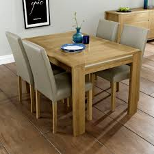Refurbished Dining Room Tables A Vintage Oak And Oak Veneer Dining Table With Four Chairs It Is