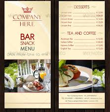simple menu template free bar menu design templates hi here is a simple restaurant bar