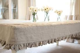 tablecloths decoration ideas 16 best images about table skirt on shabby ruffled