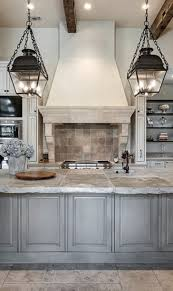 concrete countertops french country kitchen cabinets lighting
