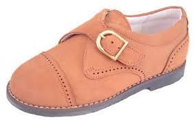 light brown monk strap shoes de osu a 5019 boys european light brown nubuck dress monk