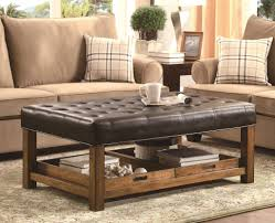 Oversized Ottoman Coffee Table Sofa Leather Ottoman Coffee Table Oversized Ottoman Tufted