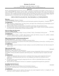 Accomplishment Based Resume Examples Vet Resume Resume For Your Job Application