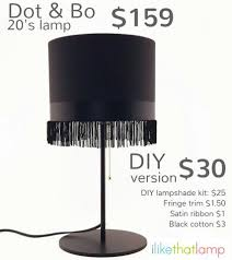 get the look for less designer lampshades i like that lamp