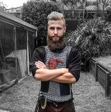 ragnar lothbrok cut his hair my ragnar lothbrok costume from vikings imgur