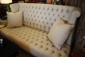 High Back Tufted Loveseat Custom High Back Deep Diamond Tufted Sofa By Yours Truly U003c3