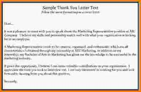 7 interview thank you email sample letter template word