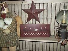 roost home decor roosters chickens home décor wall plaques ebay