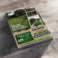 Landscaping Lawn Care by Lawn Care Flyer Design 4 U2013 The Lawn Market