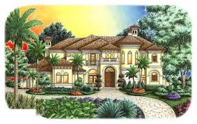 florida style home plans florida style home plan 6 bedrms 4 5 baths 5164 sq ft 175 1009