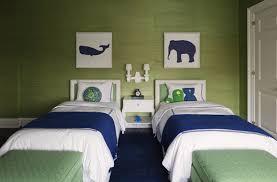 green grasscloth contemporary boy u0027s room