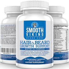 vitamins for hair over 50 amazon com hair and beard growth vitamins for men with 5000 mcg