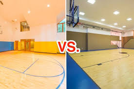 which barrington area mansion has a better basketball court