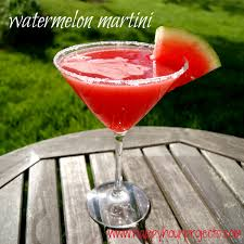 martini rose watermelon martini happy hour projects