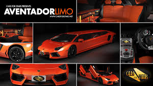 lamborghini custom gold lamborghini aventador limo by cars for stars