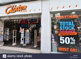 clinton cards shop with everything must go stock clearance 50