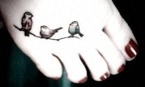 three birds tattoo on foot 30 three little birds tattoo ideas