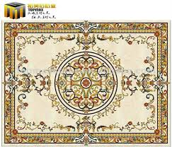 marble waterjet flooring pattern for photo detailed