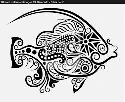 fish ornament vector 2 vector yayimages