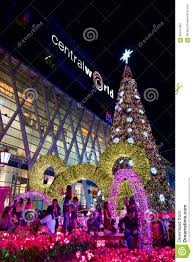 New Year Decoration Lights by New Year Decoration Light Bangkok Thailand Editorial Photography