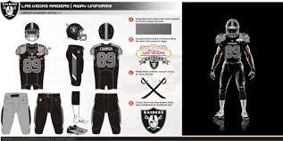 Home Design Trade Show Las Vegas Uni Watch Presents The Best Fan Designed Raiders Uniforms