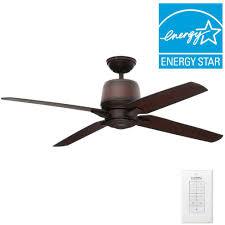 Casablanca Ceiling Fan Lights Casablanca Aris 54 In Indoor Outdoor Brushed Cocoa Bronze Ceiling