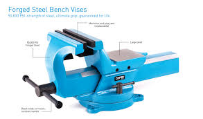 Mechanics Bench Vise Forged Steel Bench Vises Vises Capri Tools