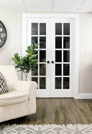 Interior White French Doors The Power Of Paint Dark Painted Interior French Doors Little