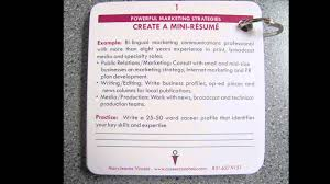resume business cards mini resume business card