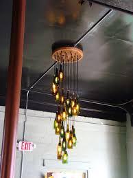 String Chandelier Diy 20 Bright Ideas Diy Wine U0026 Beer Bottle Chandeliers Beer Bottle