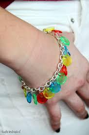 scout craft diy bingo chip bracelet consumer crafts