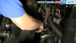 how to install replace water pump ford f150 f250 excursion 5 4