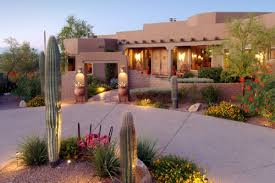 Southwestern Homes Albuquerque Is Home To Beautiful Southwestern Landscaping Similar