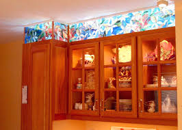 glass cabinet doors kitchen stained glass panels for cabinets cabinet stained glass for
