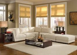 living room cream wall ceiling decorating basic apartment l